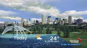 Edmonton early morning weather forecast: Wednesday, August 16, 2017